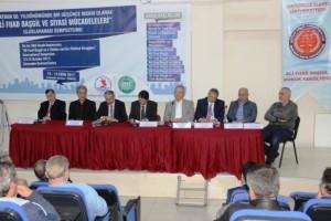 """Çarşamba'da """"Uluslararası Ali Fuad Başgil Sempozyumu"""" Düzenlendi"""