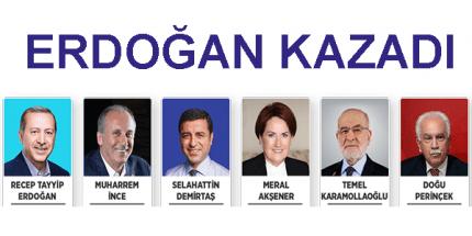 Yeni Hükümet Sisteminin İlk Cumhurbaşkanı Erdoğan