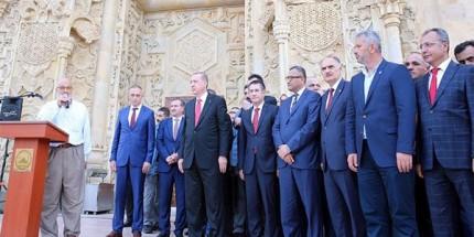 Cumhurbaşkanı Erdoğan, Bulancak Sarayburnu Camisi'nin Açılışını Yaptı