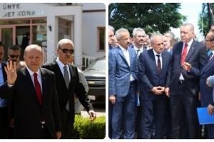 Cumhurbaşkanı Erdoğan, Afet Bölgesinde İncelemede Bulundu