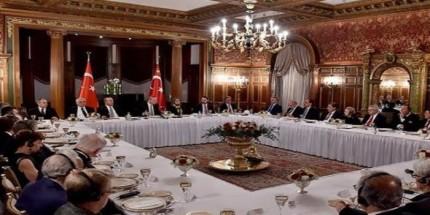 Cumhurbaşkanı Erdoğan, ABD'li Kanaat Önderleriyle Bir Araya Geldi