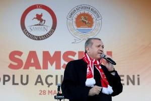 """Cumhurbaşkanı Erdoğan Samsun'da; """"Artık Güvenoyunu Millet Verecek"""""""