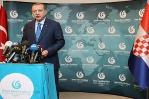 Cumhurbaşkanı Erdoğan, Zagreb Yunus Emre Türk Kültür Merkezi'ni Açtı