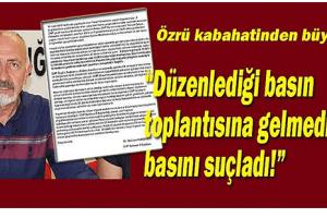 CHP Samsun İl Başkanı'ndan Şaşırtan Açıklama!