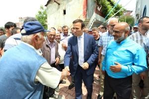Canik'te 50 Cami Çevresi Yenilendi