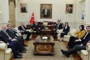 Sağlık Bakanı Ahmet Demircan Samsun Heyetini Ağırladı