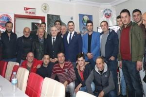 Erdal Bozkurt'tan Sivil Toplum Ziyaretleri