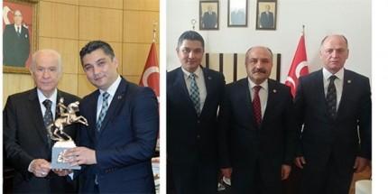 Erkut Çiftçi'den MHP Genel Merkezine Ziyaret