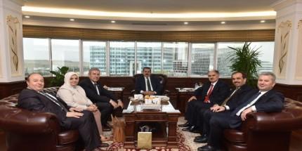 Karadeniz Milletvekillerinden Tarım Bakanlığına Fındık Ziyareti