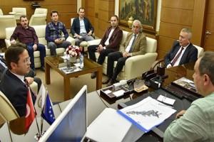 Giresun'da Alt ve Üst Yapı Çalışmaları İstişare Toplantısı
