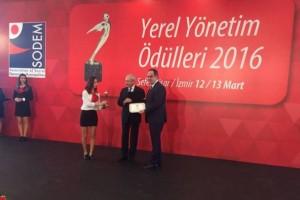 Giresun Belediyesine Kentsel Gelişim Dalında Büyük Ödül