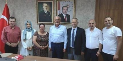 Gazeteciler Cemiyeti'nden Yusuf Ziya Yılmaz'a Ziyaret