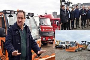 Başkan Aksu Karla Mücadele Hazırlıklarını Açıkladı