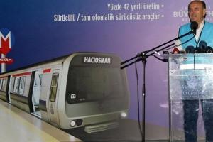 İstanbul Metrosunda Sürücüsüz Vagonlar