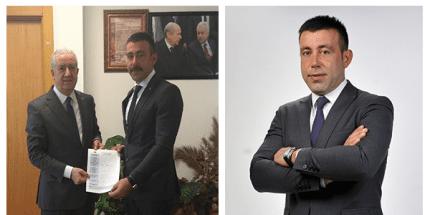 İdris Gökhan Şen, Ladik Belediye Başkan Aday Adaylığı Başvurusunu Yaptı