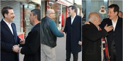 Başkan Erdoğan Tok'tan Esnafa Gönül Ziyaretleri
