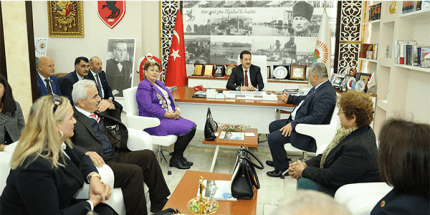 Başkan Erdoğan Tok Türkiye Muhtarlar Konfederasyonu Üyelerini Ağırladı