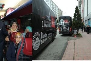 İlkadım'dan Çanakkale'ye Tarihi Sefer