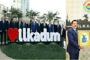 Başkan Erdoğan Tok Bakan Gül'ü Ağırladı