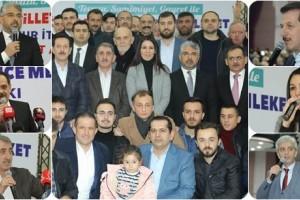 AK Parti ve MHP Derebahçe Sosyal Tesislerinde Buluştu