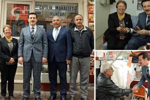 """Başkan Erdoğan Tok: """"İlkadım'da 2023 Hadefleri İçin Çalışıyoruz"""""""