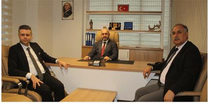 Akmeşe'den Öksüzoğlu'na Ziyaret