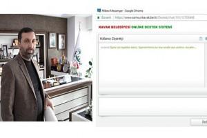 """Kavak Belediyesi  """" Online Destek Sistemini""""  Hizmete Açtı"""