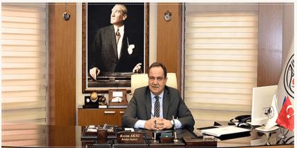 Başkan Kerim Aksu'dan Kurban Bayramı Mesajı
