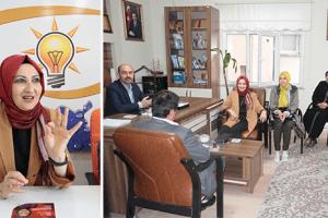 Muradiye Ergin AK Parti İlçe Teşkilatlarını Ziyaret Ediyor
