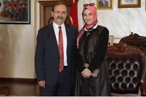 Muradiye Ergin'den Başkan Şahin'e Hayırlı Olsun Ziyareti