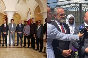 Metin Gündoğdu'dan Katar Büyükelçisine Destek Ziyareti