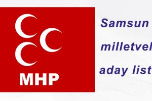 MHP Samsun Milletvekili Adayları