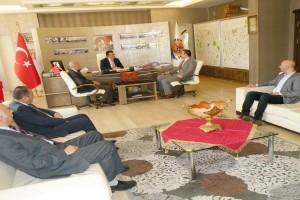 MMO Samsun Şube Yönetim Kurulundan Başkan Taşçıya Ziyaret