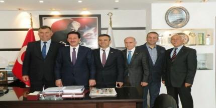 MMO Samsun Yönetim Kurulundan Başkan Tok'a Ziyaret