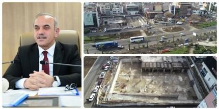 Fatsa Cumhuriyet Meydanı Projesi'nde çalışmalar Hızlandı
