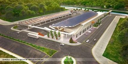 Altınordu Şehirlerarası Otobüs Terminali 2018'de Hizmete Girecek
