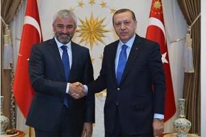 Başkan Enver Yılmaz, Cumhurbaşkanı Erdoğan İle Görüştü
