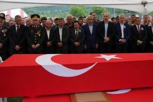 Ordulu Şehit Onur Tiken Son Yolculuğuna Uğurlandı