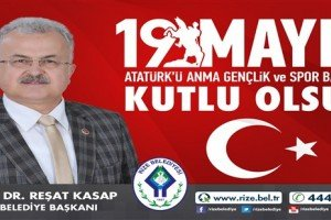 Başkan Kasap'tan 19 Mayıs Mesajı