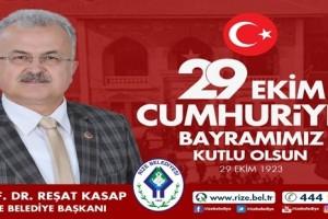 Cumhuriyetimizin 95. Yılını Aydınlık Bir Geleceğe İlham Verecek Bir Coşkuyla ve Gururla Kutluyoruz