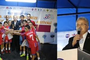 Rize Çay, Turizm ve Yaz Sporları Festivali'nde Ödüller Sahiplerini Buldu