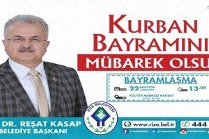 Başkan Kasap'tan Kurban Bayramı Mesajı