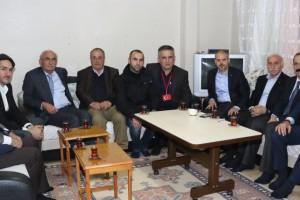 Samsun Protokolü İlk İftarını Şehit Ailesiyle Birlikte Yaptı