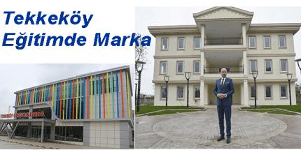 Tekkeköy Belediyesinden Eğitime Sınırsız Destek