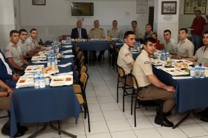 Başkan Togar İftarda Askerlerin Sofrasına Konuk Oldu