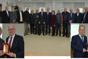 Başkan Kul'dan Terme'nin Eski Yöneticilerine Teşekkür Plaketi