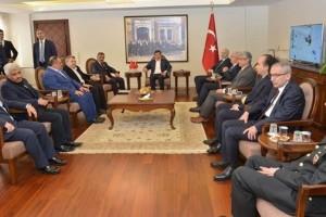 Ahmet Davutoğlu Samsun'da