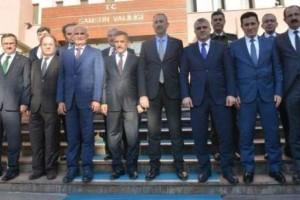 Adalet Bakanı Abdülhamit Gül Samsun'da