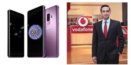 """Galaxy S9 Serisi """"Vodafone Çok Satanlar Masası"""" nda"""