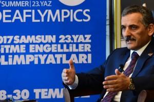 """Samsun Valisi Kaymak,  """"Bu Olimpiyatı Sahiplenelim"""""""